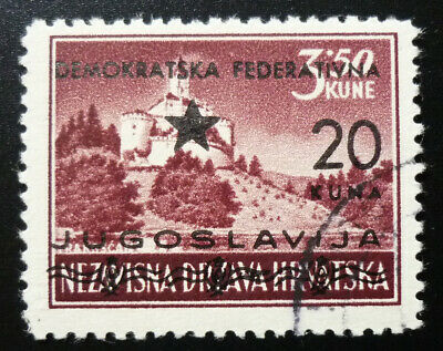 Ex Yugoslavia Stamp With Certificate ! N2