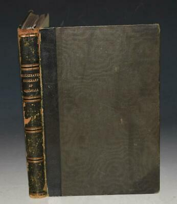 Redding Illustrated Itinerary of the County of Cornwall Fine Binding 1842 1st