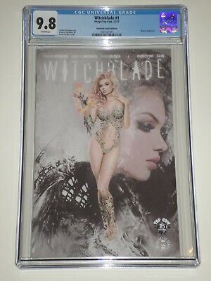 Witchblade 1 (2018) CGC 9.8 Unknown Comics Edition, Natali Sanders Cover