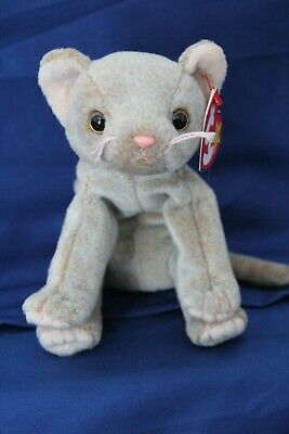 9a69651e5e9 TY BEANIE BABY - SCAT the Cat - Pristine with Mint Tags - RETIRED ...