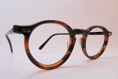 Vintage 40s MAY eyeglasses frames acetate keyhole bridge made in the USA