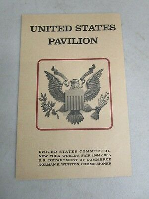 United States Pavilion New York World's Fair (1964-1965) America Past, Present..