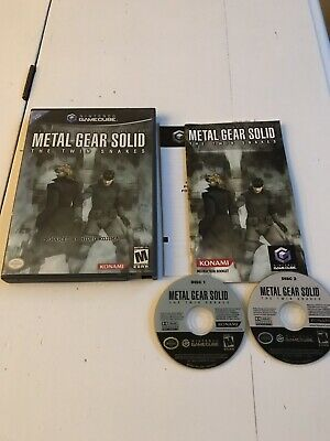 Metal Gear Solid The Twin Snakes / Complete / Nintendo GameCube / Ntsc