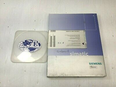 Siemens 6Es7810-4Cc08-0Ya5 Simatic Step7 V5.4 Sp3.1 Engineering Software