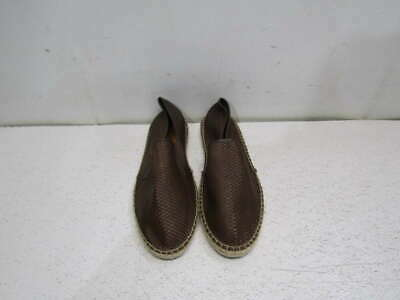 MASSIMO DUTTI MENS Brown Woven Shoes Size 45   US 12 - EUR 22 caada478db8