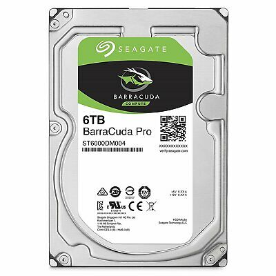 6TB Seagate BarraCuda Pro SATA 6Gb/s 256MB Cache 3.5-Inch Internal Hard Drive