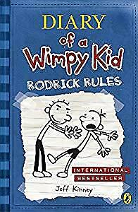 Diary of a Wimpy Kid: Rodrick Rules (Book 2), Jeff Kinney, Used; Good Book