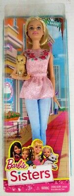 Barbie and Her Sisters in The Great Puppy Adventure Barbie Doll (NEW)