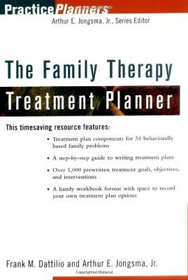 The Family Therapy Treatment Planner by Dattilio, Frank M. Jongsma Jr., Arthu…