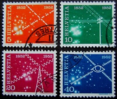Switzerland 1952 - 1955 m & u selection - mainly Pro Patria issues (28 stamps).