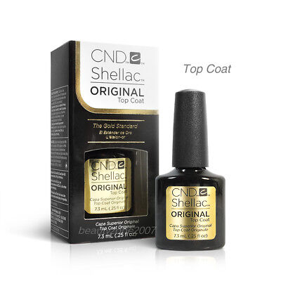 Cnd Shellac Original UV Top Coat Lack 7,4 Ml/7,3 Ml