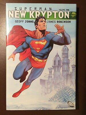 DC comics: SUPERMAN : NEW KRYPTON Vol 1, Hardcover Graphic Novel, Shrinkwrapped
