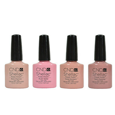 Cnd Shellac Vernis Gel Intimates Collection 7.4ml A Choisi Tout One