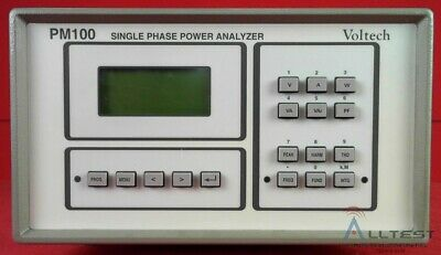Voltech PM100 Single Phase Power Analyzer