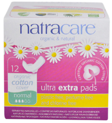 Natracare, Organic & Natural Ultra Extra Pads, Normal 12 count