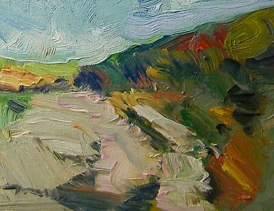 Jose Trujillo Original Oil Painting Impressionist Landscape Signed Decorative
