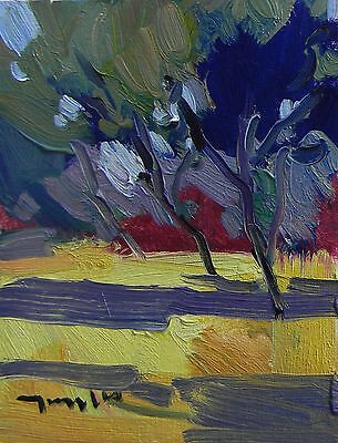 Jose Trujillo Original Oil Painting Modern Impressionism Expressionism Decor Art
