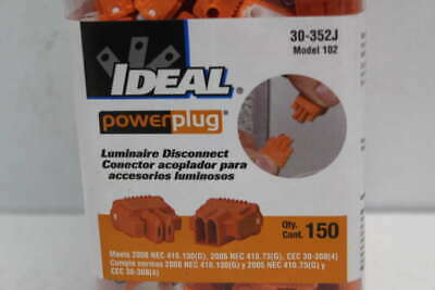 Pack of 150- Ideal Luminaire Disconnect 30-352J