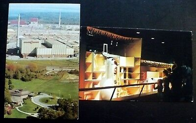 2, 1970 Nine Mile Point Nuclear Power Station, Aerial View Info Center Oswego NY