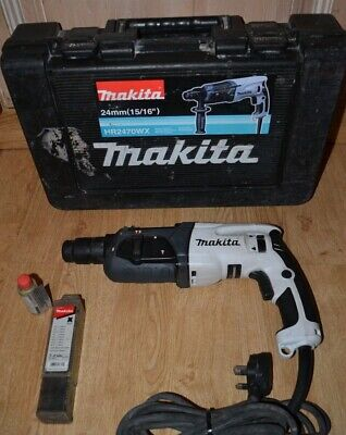 Makita Hr2470 Corded 230V Sds+ Rotary Hammer Drill With Carry Case