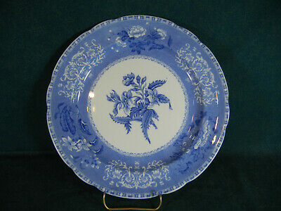 "Copeland Spode Blue Camilla Old Mark 10 3/8"" Discounted Dinner Plate(s)"