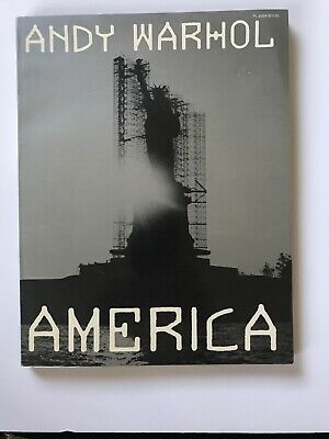 """1985 """"America"""" by ANDY WARHOL 1st edition SC illustrated VG"""