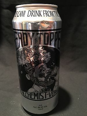 Heady Topper The Alchemist Empty Craft Beer Can Bottom Opened