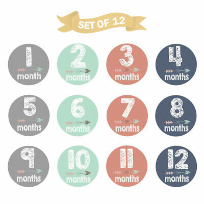 Baby Kids Monthly Milestone Baby Card Photoprops Props Decor