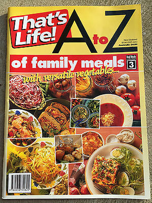 That's Life! A TO Z OF FAMILY MEALS WITH VERSATILE VEGETABLES cookbook