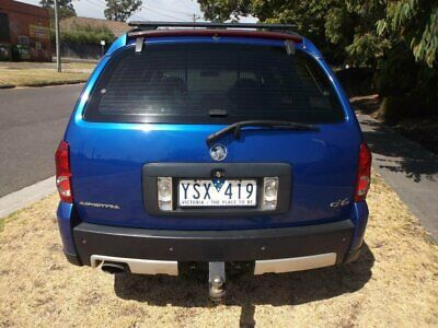 2006 Holden Adventra VZ MY06 CX6 Blue Automatic 5sp A Wagon