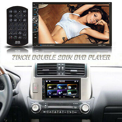 7 Double 2din Car Radio Stereo Touchscreen Tv Dvd Player For