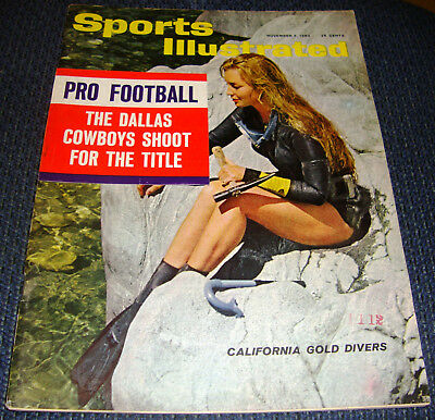 11/5/62 DALLAS COWBOYS 1st Appearance in a SPORTS ILLUSTRATED Magazine VERY RARE