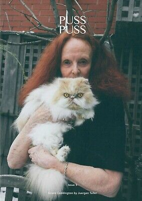 Puss Puss Magazine - Issue 5 - Fashion, Lifestyle & Cats - Cover D