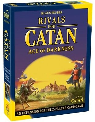Rivals of Catan: Age Of Darkness - 2nd Edition Board Game Expansion
