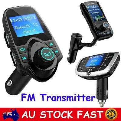 VictSing Bluetooth Car Kit FM Transmitter Radio Adapter MP3 Player USB Charger