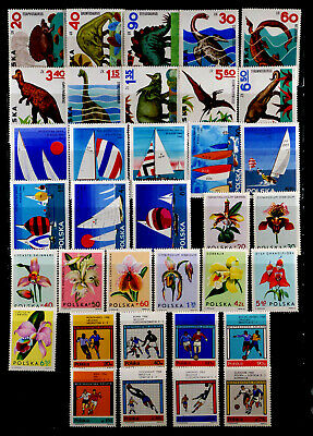 Poland: 1965 - 6 Stamp Collection Mint Never Hinged 4 Sets
