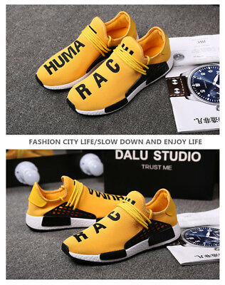 low priced 44530 f3b14 HUMAN RACE SNEAKERS Men's Casual Walking Running Gym Trainers Shoes