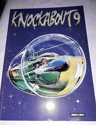 Knockabout 9 Underground Comics.1985 hunt emerson. Adults only