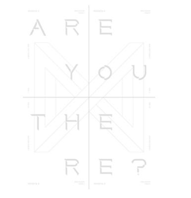 "K-POP MONSTA X 2nd Album ""TAKE.1 [ARE YOU THERE]"" III Ver- 1 Photobook + 1 CD"