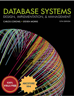  e-Version  Database Systems : Design, Implementation and Management 13th