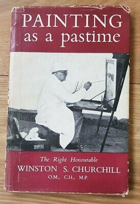 PAINTING AS A PASTIME by WINSTON S CHURCHILL - ODHAMS PRESS - H/B D/W - 1949