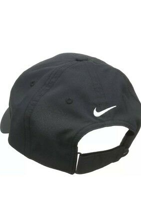 79afd55c0e0 Nike Mens Golf Legacy91 Tech Adjustable Hat Cap Black White OS 727042-010  NWT