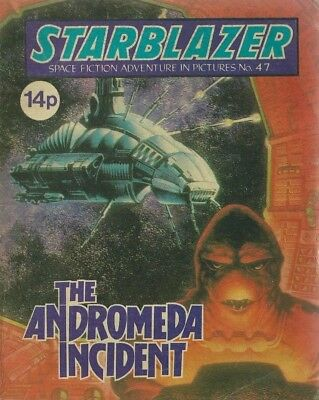 The Andromeda Incident,no.47,starblazer Space Fiction Adventure In Picture,comic