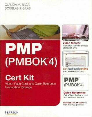 Pmp Pmbok4 Cert Kit : Video, Flash Card, and Quick Reference Preparation Pack...