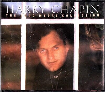HARRY CHAPIN- The Gold Medal Collection Best of/Greatest Hits 2-CD 1988 Taxi