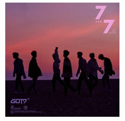 "KPOP GOT7 7th Mini Album ""7 for 7"" Golden Our Ver - 1 Photobook + 1 CD Free Ship"