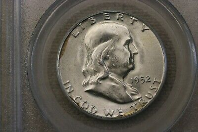 1952-S Silver Franklin Half Dollar (MS 65) PCGS