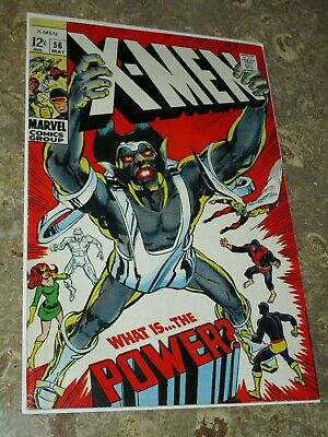 UNCANNY X-MEN #56 (May 1969) High Grade 1st Appearance of Living Monolith