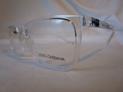 724a4597232 DOLCE   GABBANA D g Eyeglass Frame Dg5027 3133 Crystal Clear 53 Mm New  Authentic -  129.99