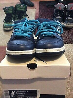 lowest price b2b68 a2cde NIKE DUNK LOW Pro Sb Blue Avengers Pinstripes 10.5
